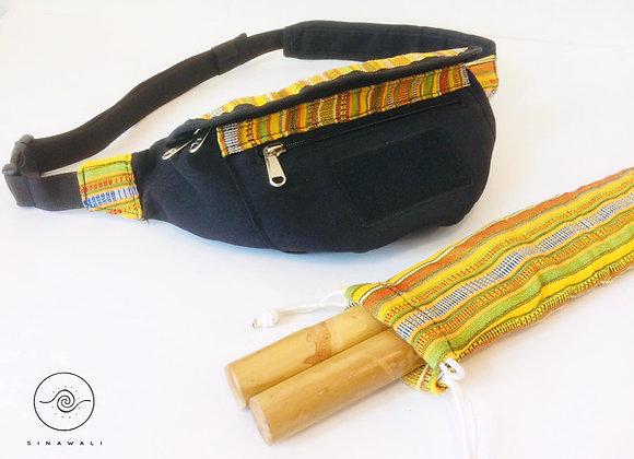 Sinawali FMA Stickbag CROSSBODY - YELLOW Yakanseries