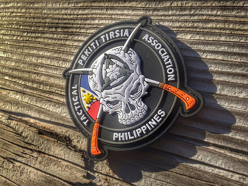 PTTA Philippines - Morale Patch (Rubber/Velcro)