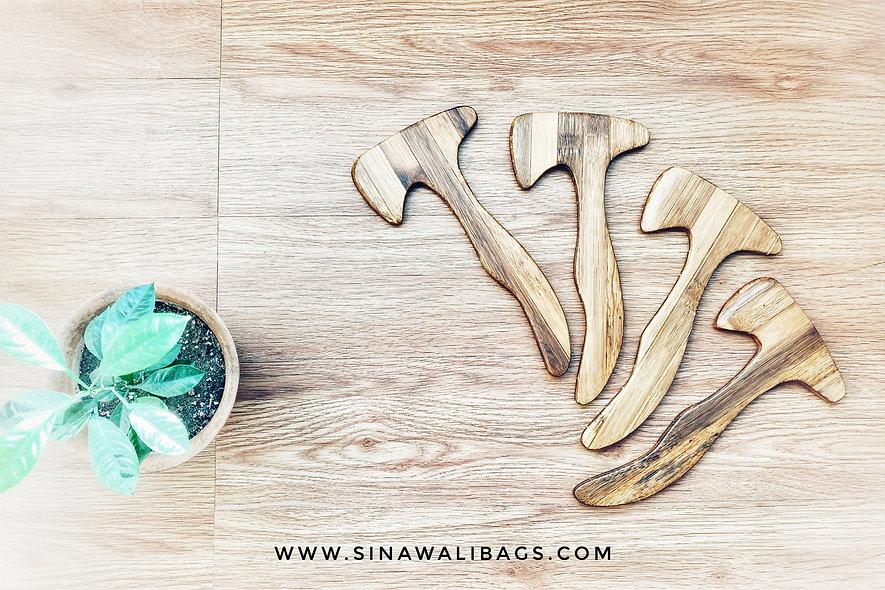 Sinawali Tomahawk / Axe :: Bamboo Training Gear