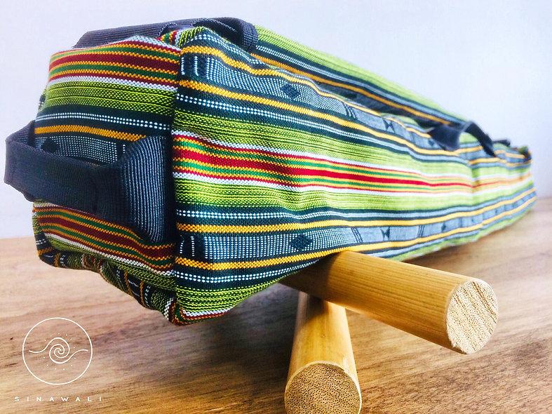 Sinawali FMA Stickbag SMALL - EMERALD GREEN Sagada series