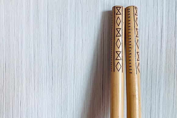 Sinawali Sticks - Sagada series (Kali Arnis Escrima)