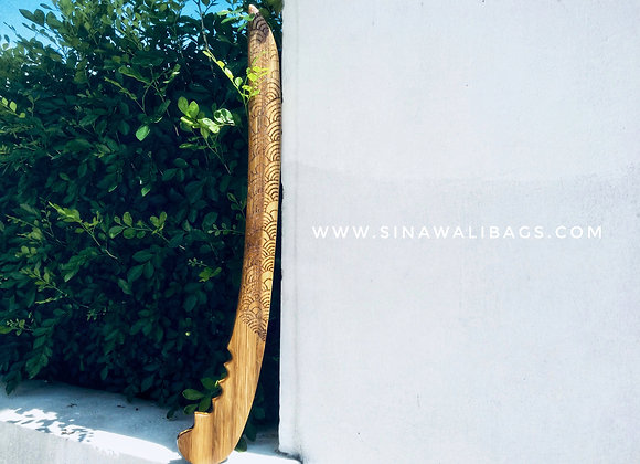 FMA Training Gear :: Sinawali Bamboo Ginunting [custom artwork]