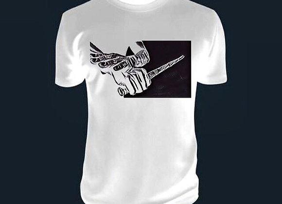 Sinawali FMA Shirt - White/Black