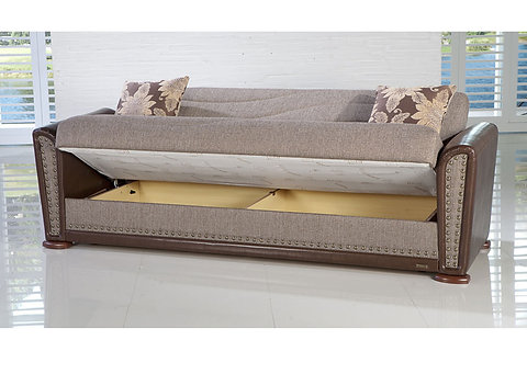 Remarkable Alfa Sofa Brown Gray 3 Seat Sleeper Sofa Unemploymentrelief Wooden Chair Designs For Living Room Unemploymentrelieforg
