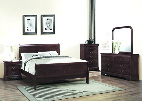 B222 Bedroom In Espresso, BEDROOM SET 4PC