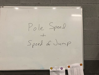 Pole Speed and Speed of the Jump