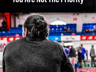 You are not the Priority when Coaching