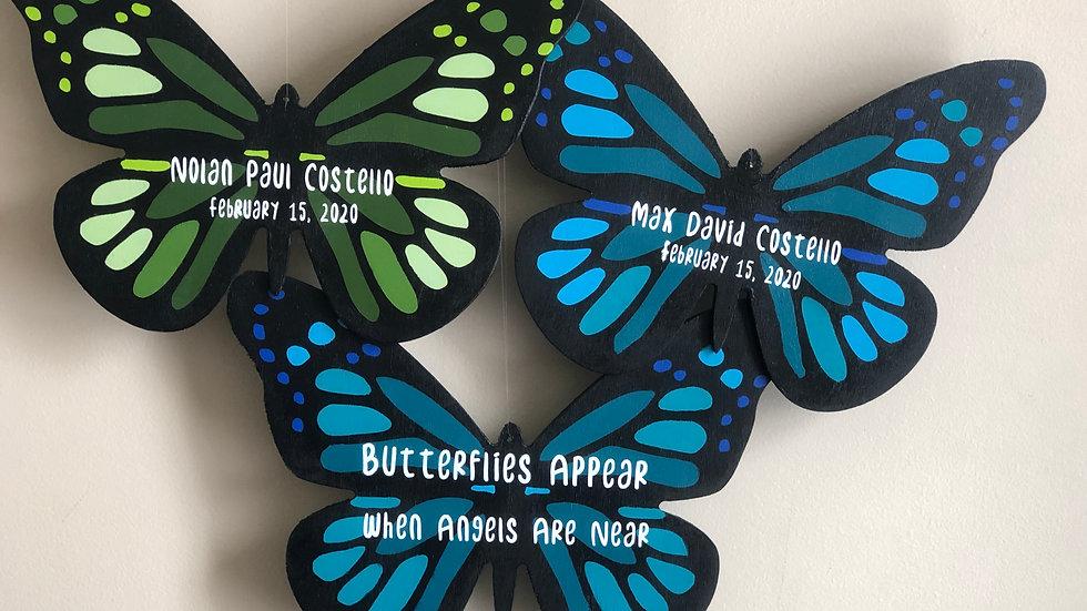 Butterflies Appear When Angels Are Near