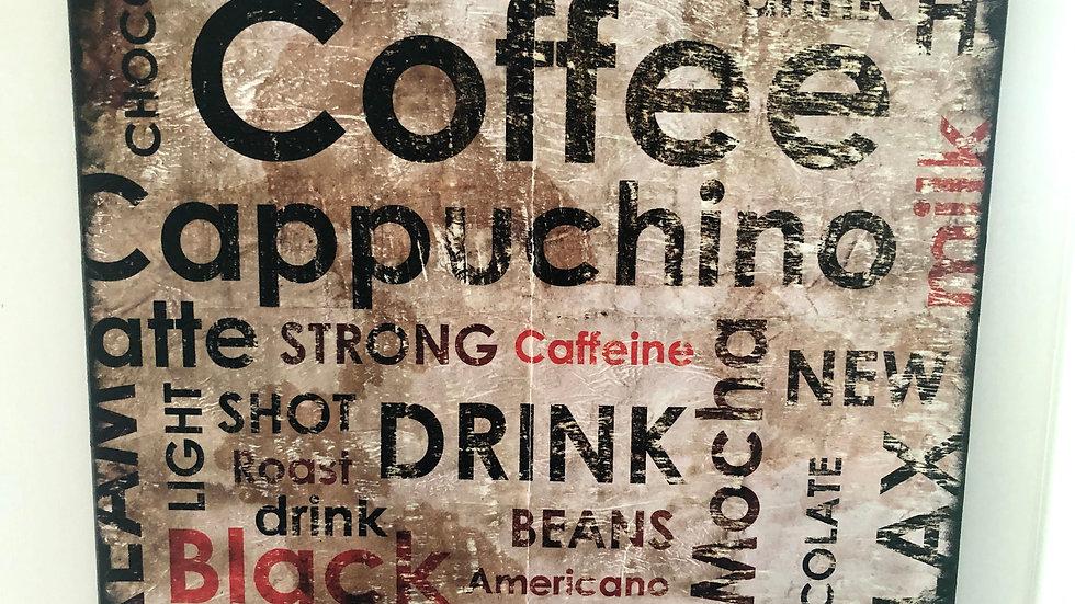Coffee Bar Canvas Art