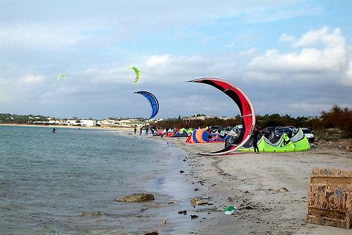 Surf und Literevier bei Porto Cesareo