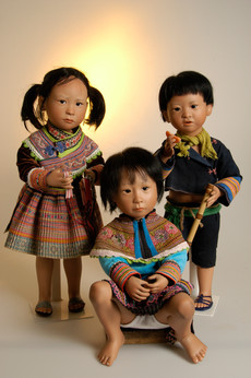 Mai, Bian en Bay komen uit Vietnam • Mai, Bian and Bay are from Vietnam