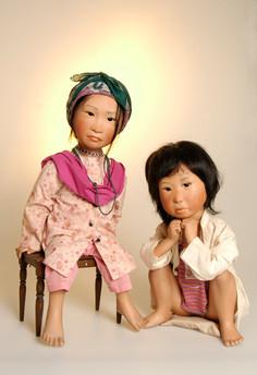 Alina en Arna komen uit Nepal • Alina n Arna are from Nepal