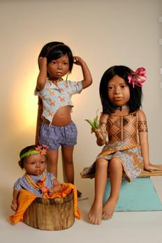 Angelina, Rouro en Kaya komen uit Panama • Angelina, Rouro en Kaya are from Panama