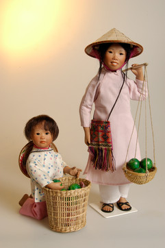Thy en Nhi komen uit Vietnam • Thy and Nhi are from Vietnam