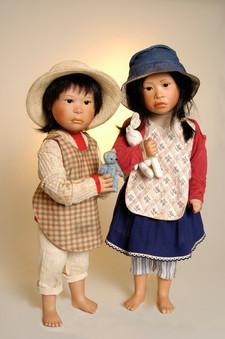 Carmen en Camila komen uit Bolivia • Carmen and Camila are from Bolivia