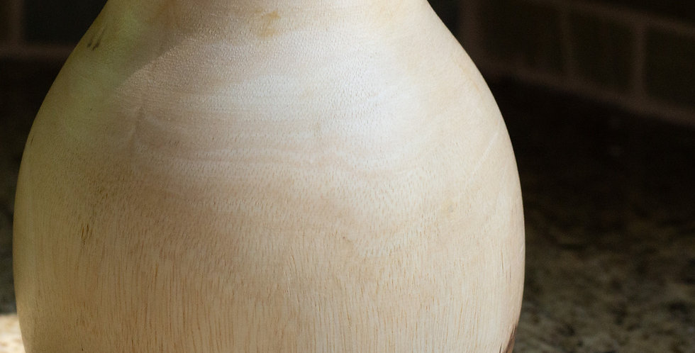 Mango Wood Vase (Large)