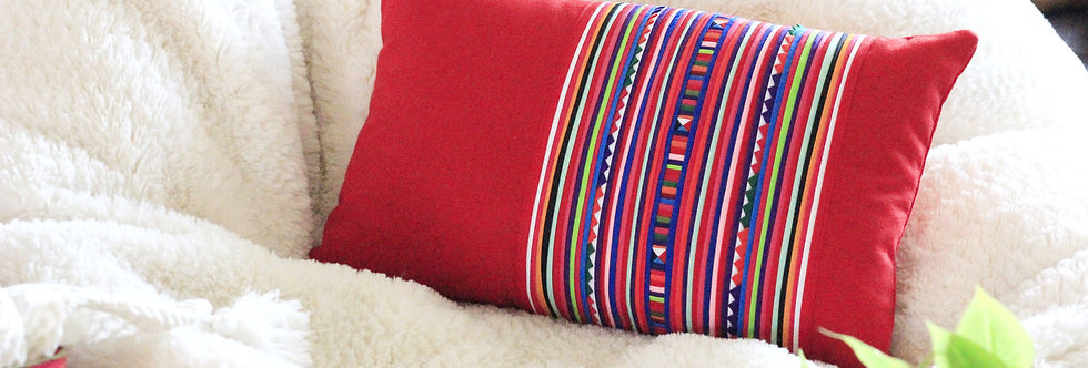 Lisu baby pillow (available in rainbow, black/white and forest)