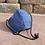 Thumbnail: Blue Men's Plain Woven Mask