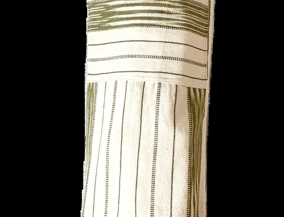 Yoga Mat Bag - Green Brushstrokes