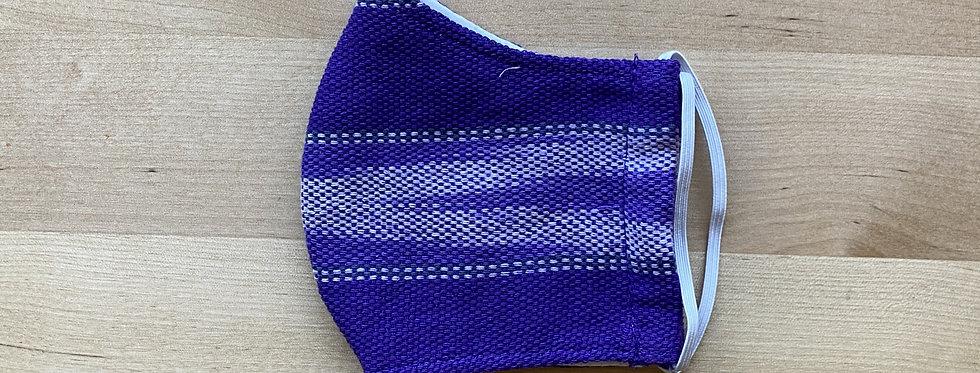 Purple Children's (3-5yrs) Karen Woven Mask