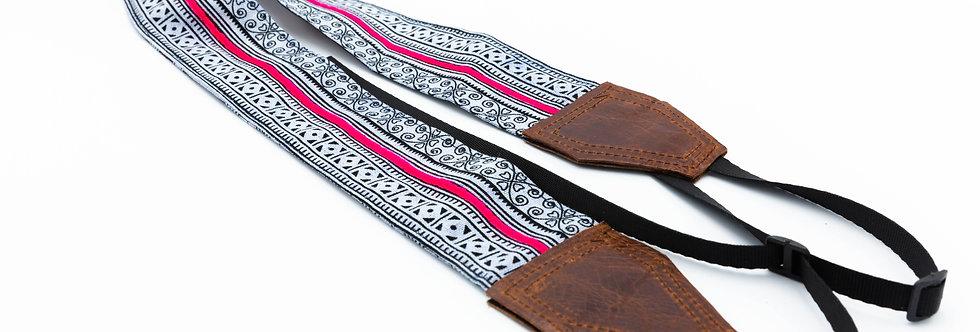 Hmong Camera Strap - Stripe