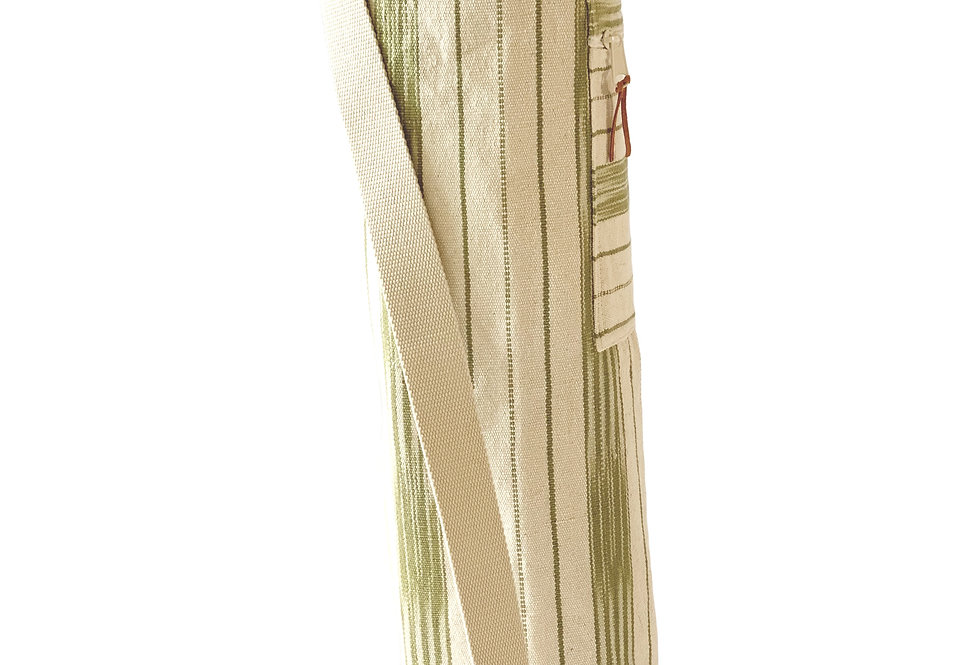 Yoga Mat Bag - Green Brushstrokes