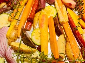 Sheet Pan Oven Roasted Vegetables