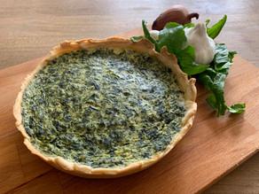 Spinach and Ricotta Quiche