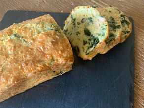 Salmon & Spinach Loaf