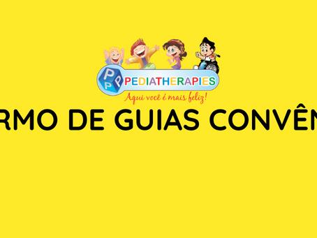 MUDANÇA DO SISTEMA DE GUIA NA PEDIATHERAPIES.