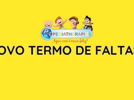 NOVO TERMO DE FALTAS DA PEDIATHERAPIES