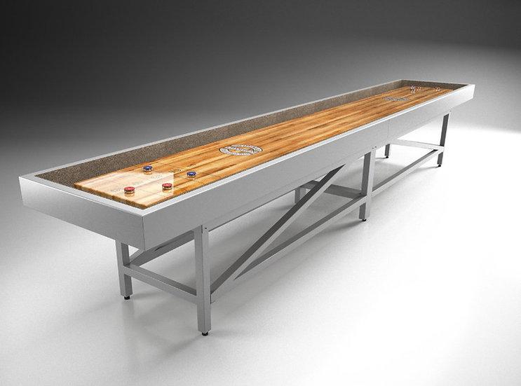 Shuffleboard utomhus