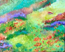 superbloom flower art adonna thousand oaks