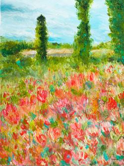 garden art flower adonna thousand oaks tulip