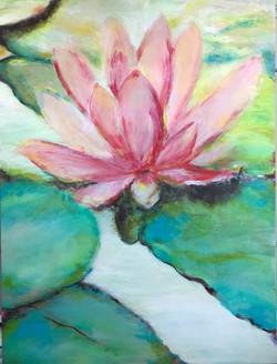 lotus flower art adonna thousand oaks