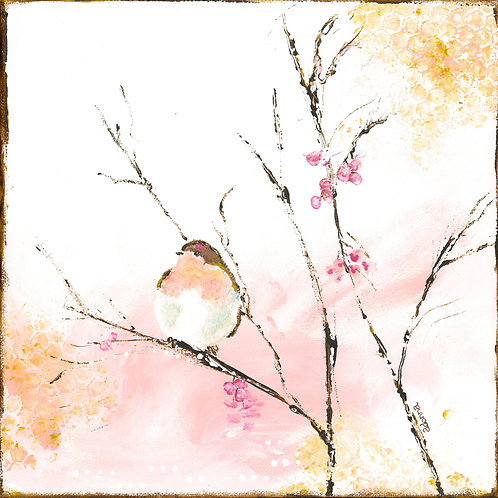 """""""Spring Bird"""" Print 10"""" x10"""""""
