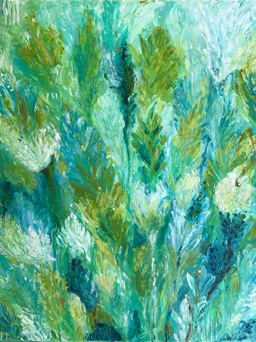 abstract art adonna leaves thousand oaks