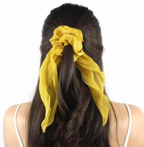 Chou foulard / jaune tournesol