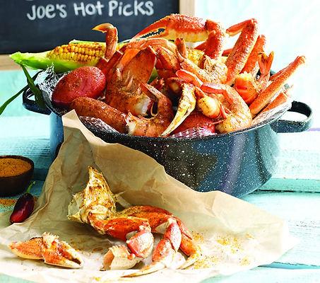 Joes Crab Shack seafood
