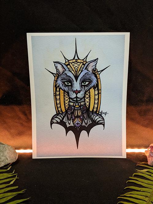 Lady Bast - Art Print