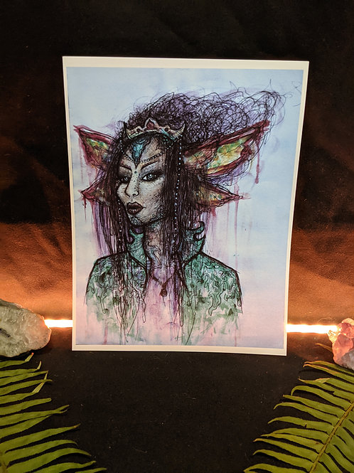 Elven Royalty - Art Print