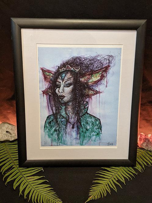 Elven Royalty - Framed Print