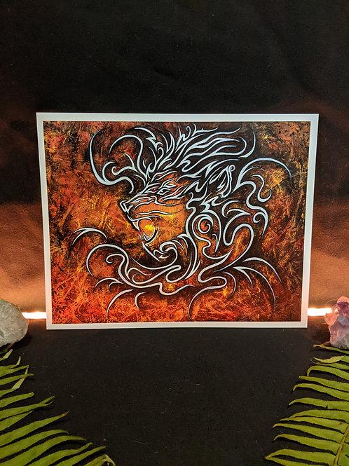 Lion Spirit - Art Print