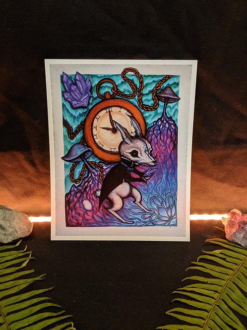 White Rabbit - Art Print