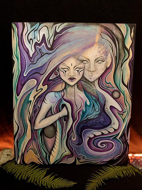 Holographic Universe - Original Painting