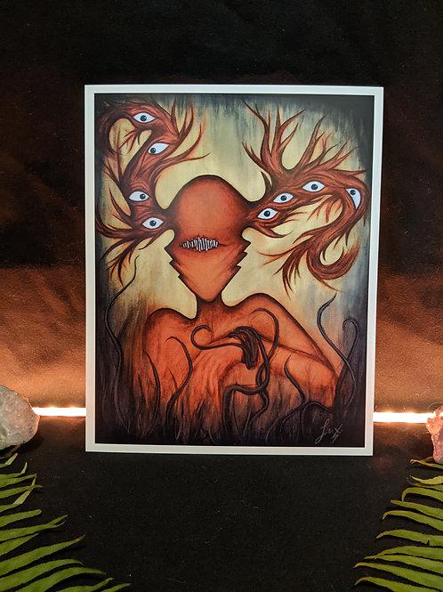 Stitch -Art Print