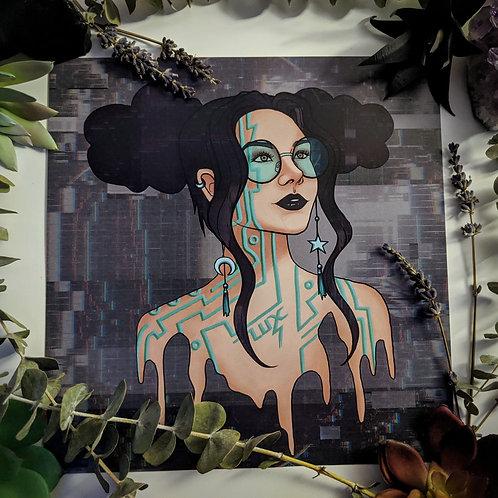 Head in the Cloudz - Art Print