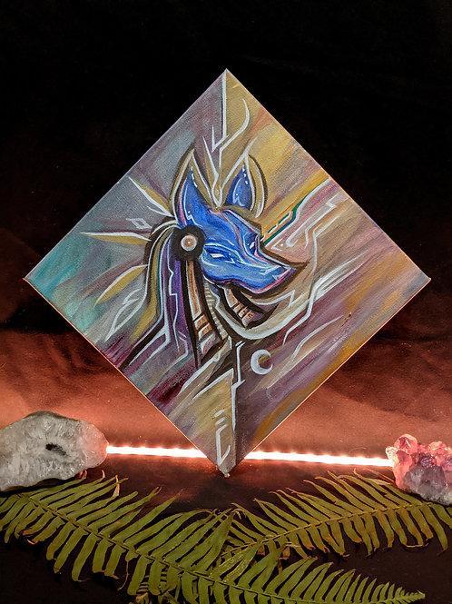 Anubis - Original Painting