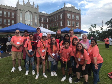 """St. John Youth Attend """"Glory on the Grounds"""" Diocesan Youth Rally"""