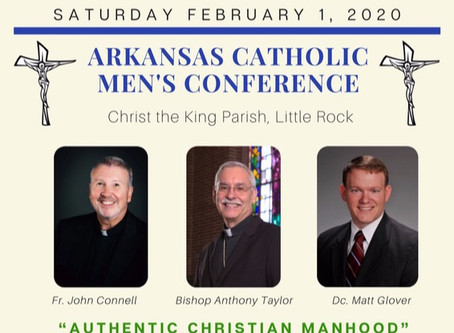 Registration Open for Arkansas Catholic Men's Conference